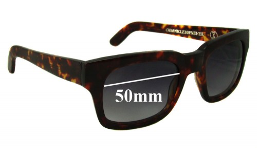 Sunglass Fix Sunglass Replacement Lenses for Chronicles of Never Choroid Plexus - 50mm Wide