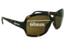 Sunglass Fix Sunglass Replacement Lenses for Calvin Klein CK3099S 60mm Wide