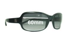 Sunglass Fix Sunglass Replacement Lenses for Dolce & Gabbana DG632S - 60mm Wide