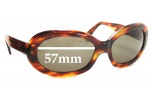 Sunglass Fix Sunglass Replacement Lenses for Dolce & Gabbana DG514S - 57mm Wide