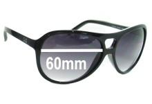 Sunglass Fix Sunglass Replacement Lenses for Dolce & Gabbana DG8070 - 60mm Wide