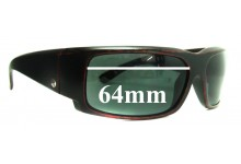 Sunglass Fix Sunglass Replacement Lenses for Electric Hoy Inc. - 64mm Wide