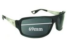 Sunglass Fix Sunglass Replacement Lenses for Emporio Armani EA 9531-S - 69mm Wide