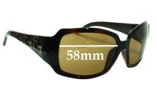 Sunglass Fix Sunglass Replacement Lenses for Fendi FS 343 - 58mm Wide