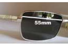 Sunglass Fix Sunglass Replacement Lenses for Feradd F3511 - 55mm Lenses