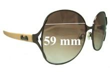 Sunglass Fix Sunglass Replacement Lenses for Fiorelli Unknown Model - 59mm Wide