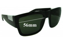 Sunglass Fix Sunglass Replacement Lenses for Fox The Decorum - 56mm Wide