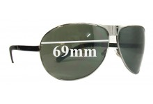 Sunglass Fix Sunglass Replacement Lenses for Gucci GG1813 - 69mm Wide
