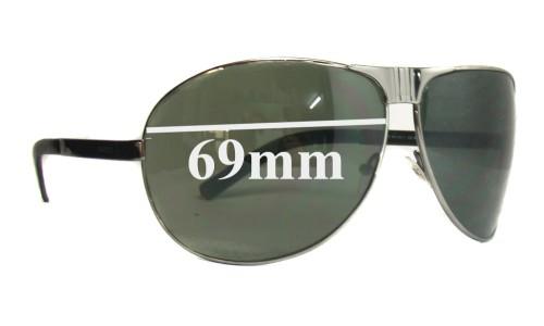 Sunglass Fix Sunglass Replacement Lenses for Gucci GG1813 - 69mm wide