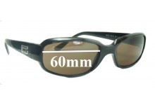 Sunglass Fix Sunglass Replacement Lenses for Gucci GG 8039 - 60mm Wide