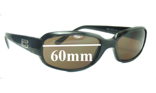 Sunglass Fix Sunglass Replacement Lenses for Gucci 8039 - 60mm wide