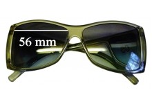 Sunglass Fix Sunglass Replacement Lenses for Gucci GG 2466/S - 56mm Wide x 44mm Tall