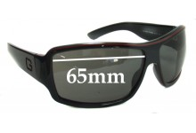 Sunglass Fix Sunglass Replacement Lenses for Gucci GG 1621/S - 65mm Wide