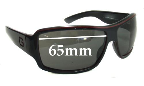 Sunglass Fix Sunglass Replacement Lenses for Gucci GG1621/S - 65mm