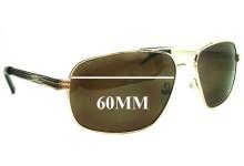 Sunglass Fix Sunglass Replacement Lenses for Guess GUF102 - 60mm Wide