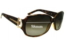 Sunglass Fix Sunglass Replacement Lenses for Gucci GG 3168/S - 58mm Wide