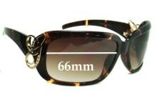 Sunglass Fix Sunglass Replacement Lenses for Guess GU6439 - 66mm Wide