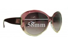 Sunglass Fix Sunglass Replacement Lenses for Juicy Couture Atlanta/S - 58mm Wide