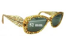 Sunglass Fix Sunglass Replacement Lenses for Jean Lafont Jamaique 380 - 52mm Wide