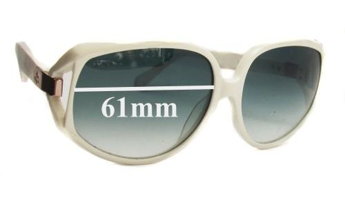 Sunglass Fix Sunglass Replacement Lenses for Karen Walker Amelia - 61mm Wide