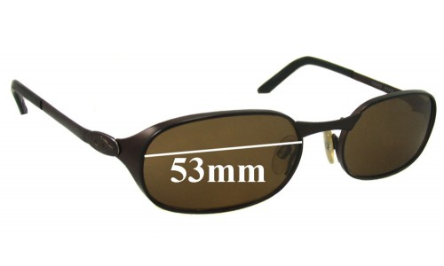Sunglass Fix Sunglass Replacement Lenses for Killer Loop NIMAD2 - 53mm Wide