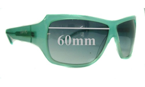 Sunglass Fix Sunglass Replacement Lenses for Lisa Ho LH214/S - 60mm Wide
