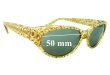 Sunglass Fix Sunglass Replacement Lenses for Jean Lafont Dame 558 - 50mm Wide