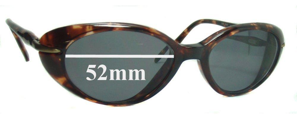 Sunglass Fix Sunglass Replacement Lenses for Maui Jim MJ147 Cabana - 52mm Wide