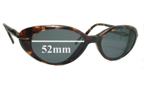 Sunglass Fix Sunglass Replacement Lenses for Maui Jim MJ147 - 52mm Wide