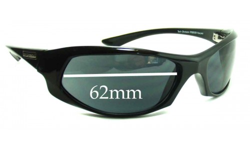 Sunglass Fix Sunglass Replacement Lenses for Mormaii Itacare - 62mm Wide