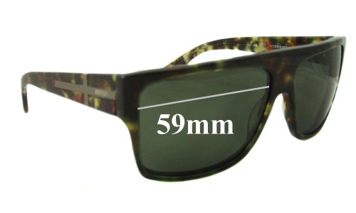 Sunglass Fix Sunglass Replacement Lenses for Morrissey Hey Zeus - 59mm wide