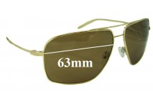 Sunglass Fix Sunglass Replacement Lenses for Mosley Tribes Enforcer - 63mm Wide