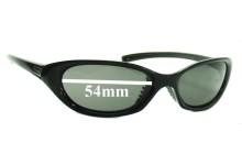 Sunglass Fix Sunglass Replacement Lenses for Nike Furi EVO140 EVO141 EVO149 EVO213 - 54mm Wide