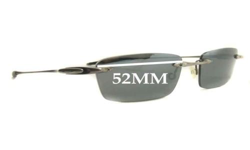 Sunglass Fix Sunglass Replacement Lenses for Oakley 31 Thirteen 53mm wide Sunglass Replacement Lenses