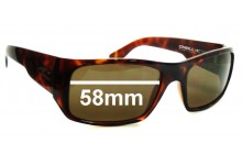 Sunglass Fix Sunglass Replacement Lenses for O'Neill FILO First in last out - 58mm Wide
