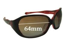 Sunglass Fix Sunglass Replacement Lenses for Oakley Betray (Asian Fit) - 64mm Wide