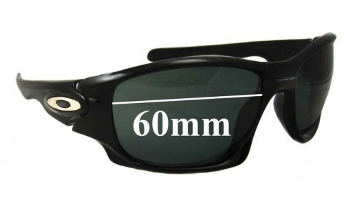 Sunglass Fix Sunglass Replacement Lenses for Oakley Ten - 60mm - 61mm wide