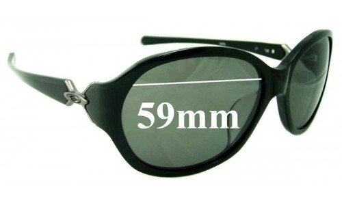 Sunglass Fix Sunglass Replacement Lenses for Oakley Abandon (Asian Fit) - 59mm Wide