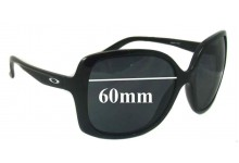 Sunglass Fix Sunglass Replacement Lenses for Oakley Beckon OO9125 - 60mm Wide