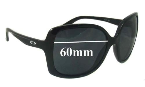 Sunglass Fix Sunglass Replacement Lenses for Oakley Beckon OO9125 - 60mm Wide