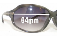 Sunglass Fix Sunglass Replacement Lenses for Optyl 3513 - 64mm Wide
