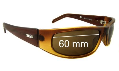 Sunglass Fix Sunglass Replacement Lenses for Otis 3D - 60mm Wide