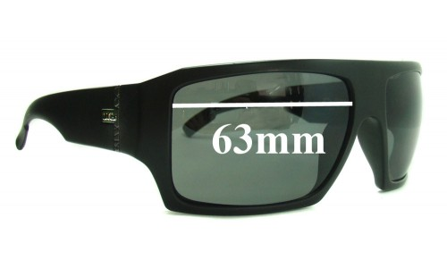 Sunglass Fix Sunglass Replacement Lenses for Otis Cube - 63mm wide