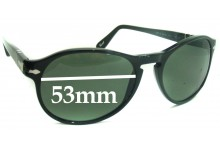 Sunglass Fix Sunglass Replacement Lenses for Persol 2931-S - 53mm Wide
