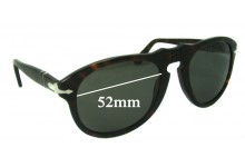 Sunglass Fix Sunglass Replacement Lenses for Persol 649 - 52mm Wide