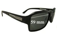 Sunglass Fix Sunglass Replacement Lenses for Prada SPR09I - 59mm Wide