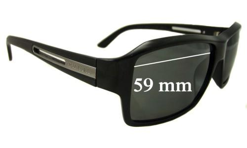 Sunglass Fix Sunglass Replacement Lenses for Prada SPR 09I - 59mm Wide
