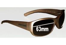 Sunglass Fix Sunglass Replacement Lenses for Prada SPR12F - 63mm wide