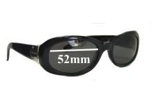 Sunglass Fix Sunglass Replacement Lenses for Ralph Lauren RA5029 - 52mm Wide