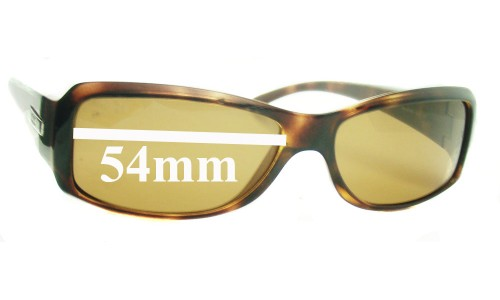 Sunglass Fix Sunglass Replacement Lenses for Ray Ban RB4078 - 54mm wide